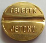 Jeton Telefon Public - TURCIA, *cod 2658 (marimea mare)