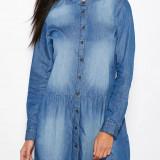 Rochie tip camasa - Only - art. 15105254 blue denim