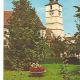 CPI (B6698) CARTE POSTALA - SIBIU. TURNUL SFATULUI, 1970 - Carte Postala Transilvania dupa 1918, Circulata, Fotografie
