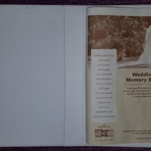 Album cartonat  fotografii nunta Our Wedding 29 x 25 cm SUA