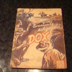 Aventurile echipajului Dox - nr 108 - ed Hertz 1935