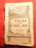 Gr.H.Grandea - Fulga sau Ideal si Real - Libr. L.Alcalay BPT 552 - Ed.1909