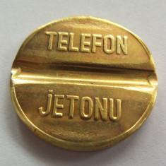 Jeton Telefon Public - TURCIA, *cod 2656 (marimea medie)