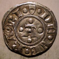 G.291 ITALIA FERRARA NICOLO III D'ESTE 1393 1441 GROS MARCHESANO GROSSO ARGINT - Moneda Medievala, Europa