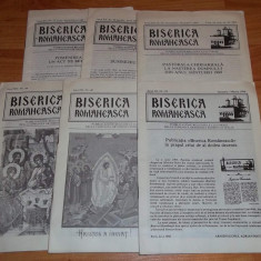 lot 6 reviste Biserica Romaneasca (comunitatea ortodoxa romana Italia) 1986-90