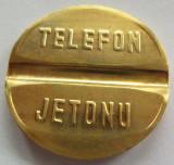 Jeton Telefon Public - TURCIA, *cod 2659 (marimea mare)