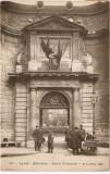 WW1 SOLDATI FRANCEZI CRUCEA ROSIE LYON INTRARE HOTEL DIEU, Franta, Circulata, Printata