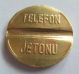 Jeton Telefon Public - TURCIA, *cod 2655 (marimea medie)