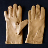 Manusi piele moale; marime M, vezi dimensiuni exacte in a doua poza - Manusi Dama, Marime: M, Culoare: Din imagine
