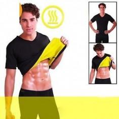 Set Fitness pantaloni si tricou pentru slabit pentru barbati Hot Shapers