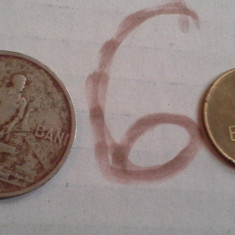 50 BANI 1955/6+CADOU 5 BANI 1955 DIN POZA - Moneda Romania