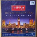 Ceai Pure Ceylon Tea Royal Elixir Tea, 100 pliculete, originar Sry Lanka