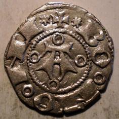 G.311 ITALIA REPUBLICA BOLOGNA BOLOGNINO GROSSO 1380 1443 GROS ARGINT 1, 14g/18mm - Moneda Medievala, Europa