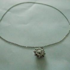 Colier argint cu pandantiv soare - 101