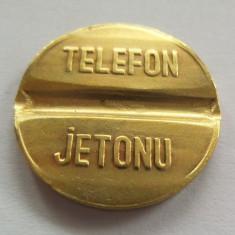 Jeton Telefon Public - TURCIA, *cod 2657 (marimea medie)