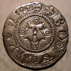 G.307 ITALIA REPUBLICA BOLOGNA BOLOGNINO GROSSO 1380 1443 GROS ARGINT 1, 2g/18mm - Moneda Medievala, Europa