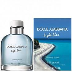 Dolce&Gabbana Light Blue Swimming in Lipari EDT 125 ml pentru barbati - Parfum barbati Dolce & Gabbana, Apa de toaleta