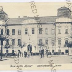 2561 - Mures, TARGU-MURES, high school - old postcard - unused - Carte Postala Transilvania 1904-1918, Necirculata, Printata