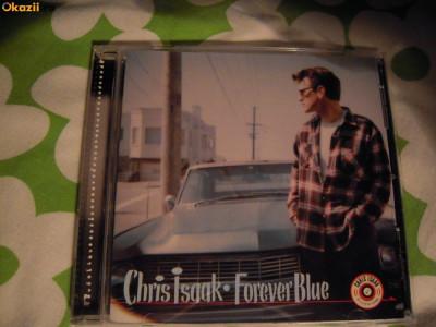 CD muzica original Chris Isaak (Forever Blue) - 1995 Stare perfecta foto