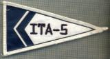 198 -EMBLEMA - ITA-5 -INTRECERE DE YACHTING  -starea care se vede