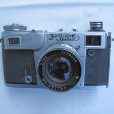 Aparat foto Kiev +obiectiv Jupiter 8M+toc - Aparat Foto cu Film Kiev, RF (Rangefinder), Mic
