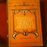 Gh. Taranu Cezar Portasa Tehnologia fabricarii mobilei artistice tiraj 900 ex.