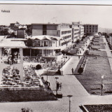 CARTE POSTALA MANGALIA PE FALEZA CIRCULATA 1963 - Carte Postala Dobrogea dupa 1918, Fotografie