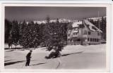 CARTE POSTALA MUNTII CIUCULUI CABANA CIRCULATA 1944