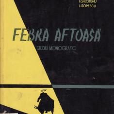 V. Tomescu - Febra aftoasa.Studiu monografic - 33901 - Carti Zootehnie