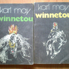 K3 Karl MAY - Winnetou (2 volume) - Roman, Anul publicarii: 1992