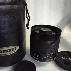Vand obiectiv pe montura MINOLTA/SONY 500mm 8 impecabil, cu etui - Obiectiv DSLR Sony, Macro (1:1), Minolta - Md