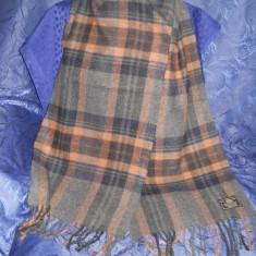 Fular lana virgina - Fular Barbati, Multicolor