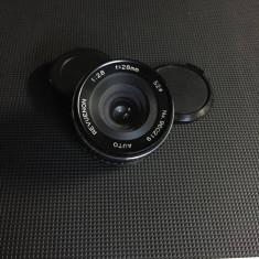 Obiectiv pe montura PENTAX P/K 28mm 2.8 - Obiectiv DSLR Pentax, Pentax - K