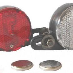 Set 2 Catadioptrii cu LED Spite Bicicleta