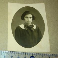 Foto veche - portret, fata, 1926, constantinopol, galati - 2+1 gratis - RBK11230 - Fotografie