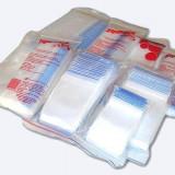 Pungi de plastic cu fermoar ziplock dimensiuni 40x60 mm