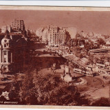 CARTE POSTALA BUCURESTI PIATA BRATIANU CIRCULATA 19. IUNIE 1947 - Carte Postala Muntenia dupa 1918, Fotografie