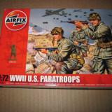 3491.Set soldati -  U.S. Paratroops - WW II scara 1:72