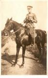 WW1 OFITER CU SABIE CAVALERIE ITALIANA CALARE PE CAL, Italia, Necirculata, Printata