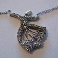 Colier argint cu pandantiv filigran - 358