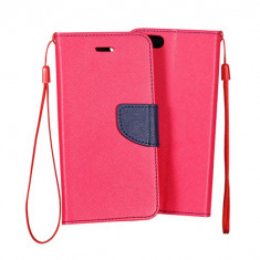 Husa HUAWEI Ascend G8 Flip Case Inchidere Magnetica Pink