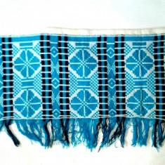 Tesatura pe etamina - draperie cu motive rustice - Broderie