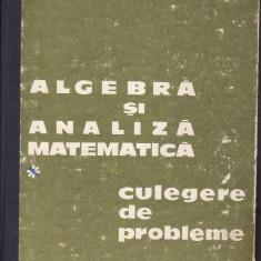 Matematica-Algebra si analiza matematica-Culegere-Donciu, Flondor-1978