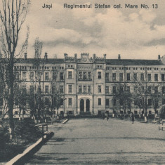 IASI, REGIMENTUL STEFAN CEL MARE NO 13 - Carte Postala Moldova 1904-1918, Stare: Necirculata, Tip: Printata