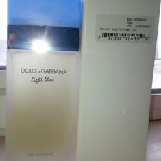 TESTER Dolce and Gabbana Light Blue MADE IN FRANCE - Parfum femeie Dolce & Gabbana, Apa de parfum, 100 ml