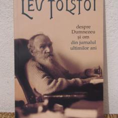 DESPRE DUMNEZEU SI OM.DIN JURNALUL ULTIMILOR ANI -LEV TOSTOI - Biografie