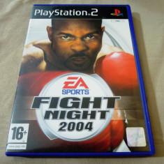 Joc Fight Night Round 2004, PS2, original, alte sute de jocuri! - Jocuri PS2 Ea Sports, Sporturi, 16+, Multiplayer