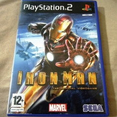 Joc Iron Man, PS2, original, 39.99 lei(gamestore)! - Jocuri PS2 Sega, Actiune, 12+, Single player