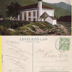 Insula Ada Kaleh - Moscheia - Carte Postala Banat 1904-1918, Circulata, Printata