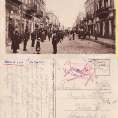Ramnicu Sarat ( jud.Buzau ) - Strada Victoriei-cenzura